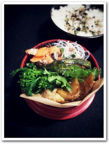 ポテト肉巻き弁当