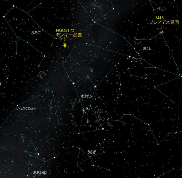 オリオン座_NGC2175_iti