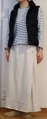 型紙のいらないスカート
