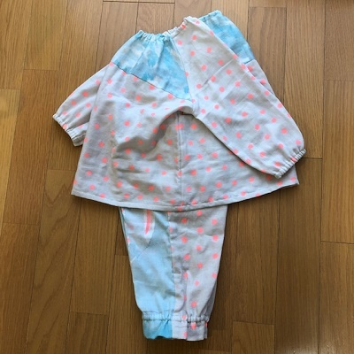 naniIROソーイング パジャマ