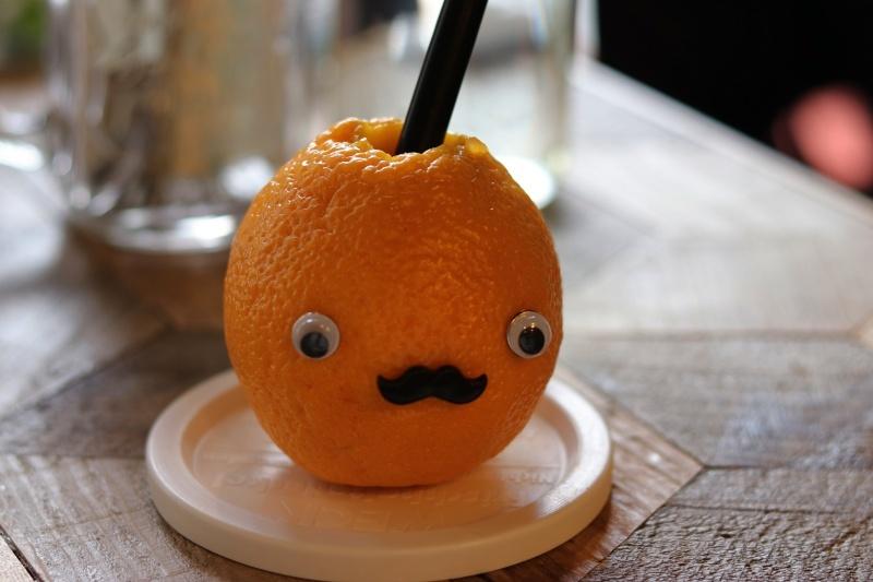 20180123ココチカフェオレンジジュース