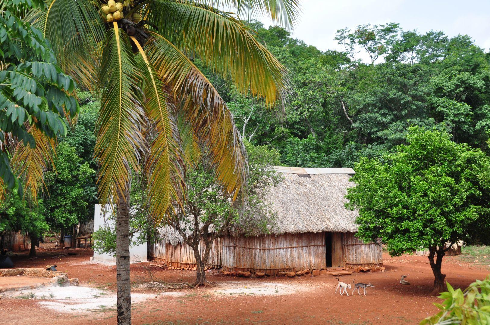 una casa maya
