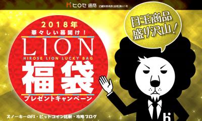 ヒロセ通商福袋2018