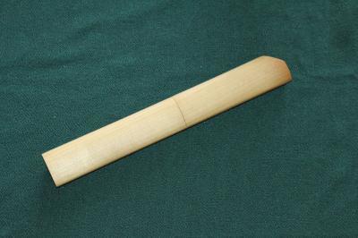T様 小刀用木製柄と鞘2
