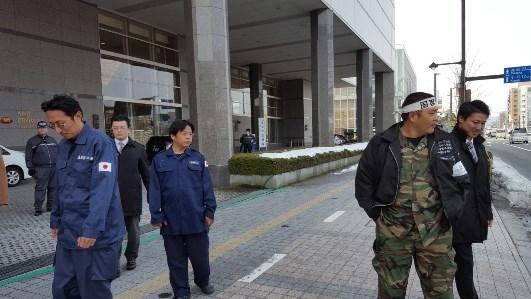 キムミョンベの抗議3