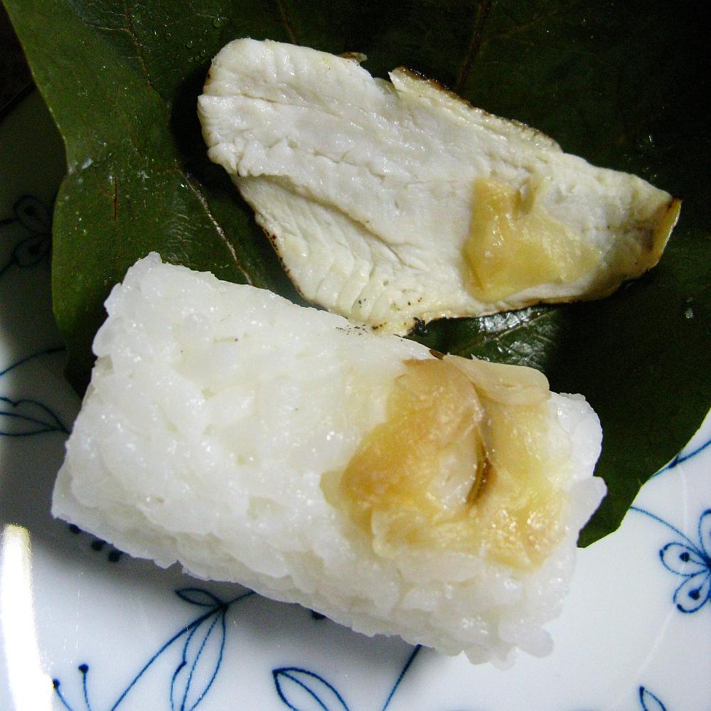 2017_03_26金沢:みやこや 氷室のどぐろ柿の葉寿司19