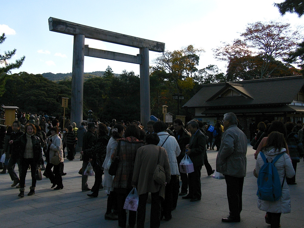 2013_11_29 伊勢神宮:内宮01