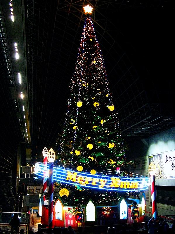 2013_11_25京都駅:クリスマス夜景15
