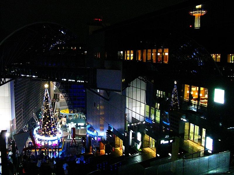 2013_11_25京都駅:クリスマス夜景16