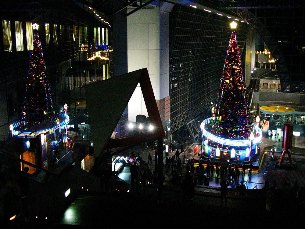 2013_11_25京都駅:クリスマス夜景19