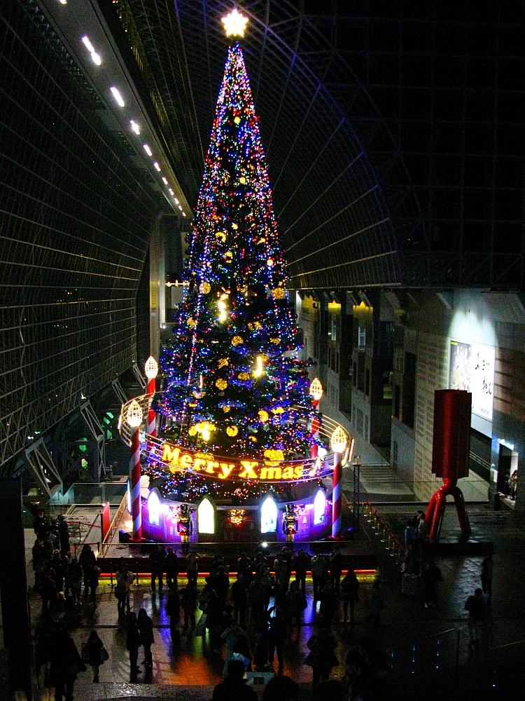 2013_11_25京都駅:クリスマス夜景22