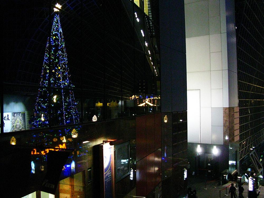 2013_11_25京都駅:クリスマス夜景23