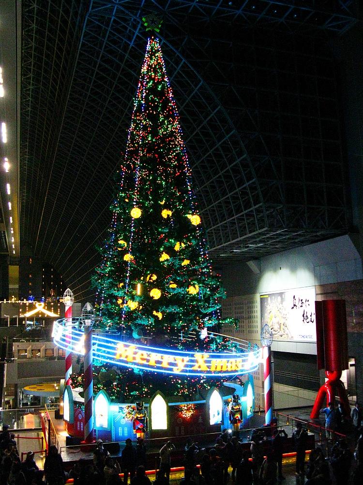 2013_11_25京都駅:クリスマス夜景25