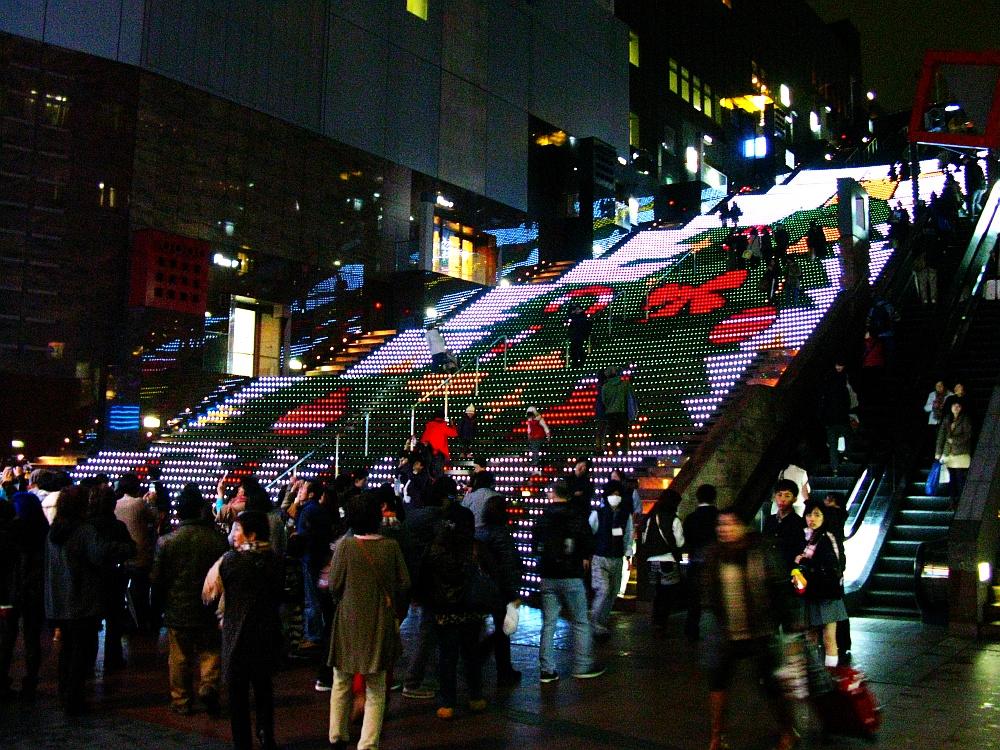 2013_11_25京都駅:クリスマス夜景33
