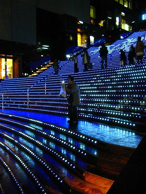 2013_11_25京都駅:クリスマス夜景29