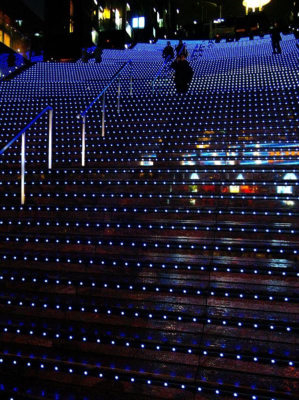 2013_11_25京都駅:クリスマス夜景31