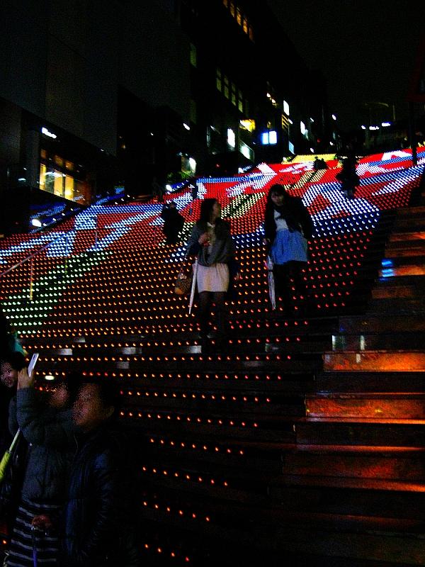2013_11_25京都駅:クリスマス夜景32