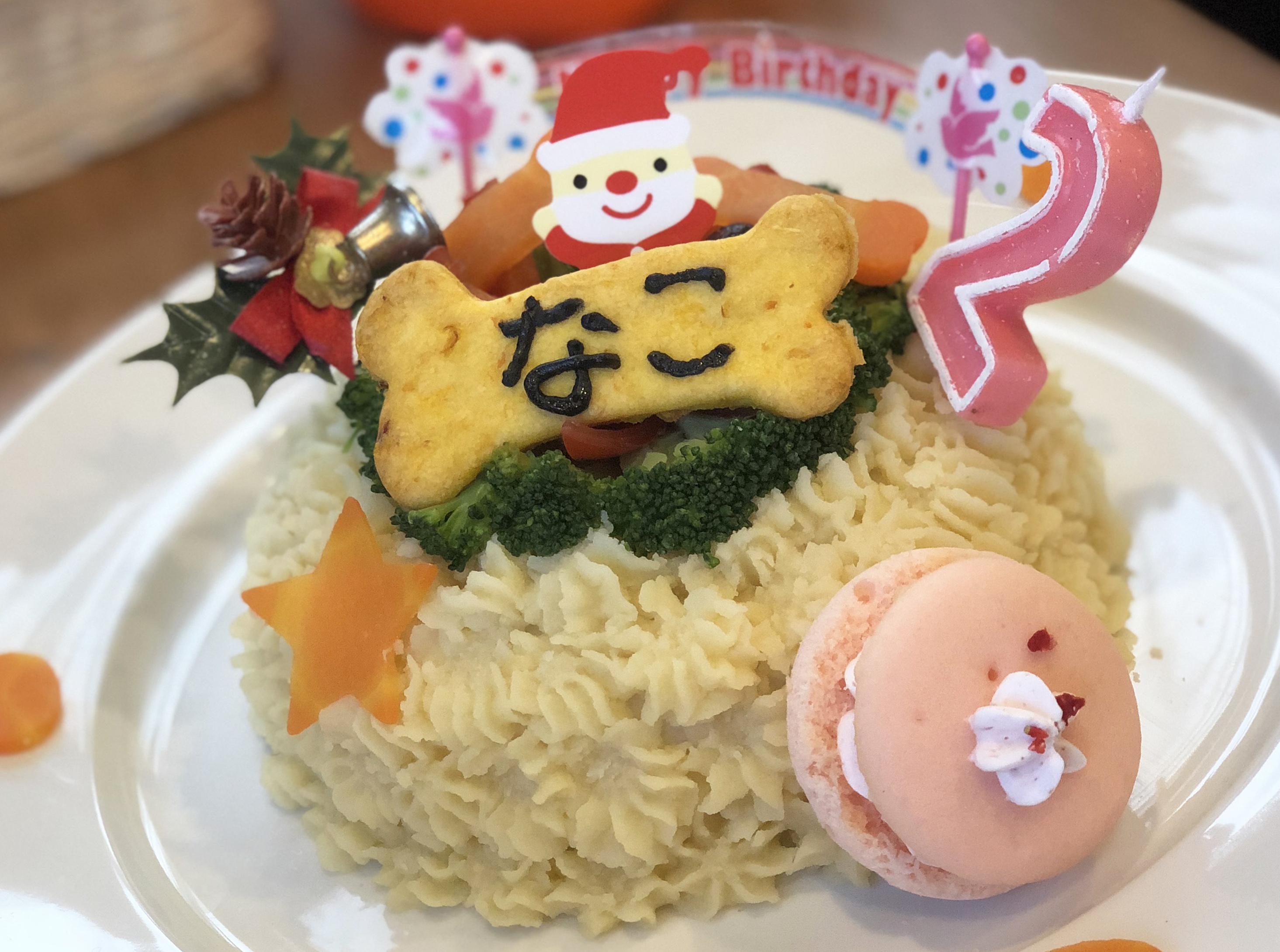 1712なこちゃんケーキ
