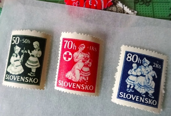 スロヴァキア赤十字切手