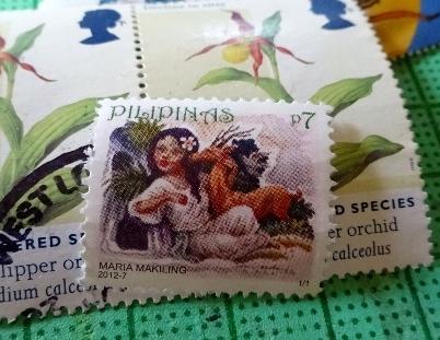 フィリピン諸星切手