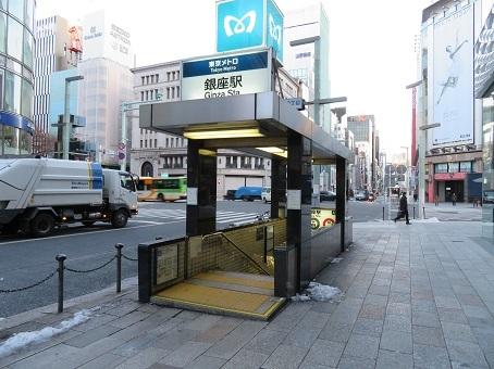 銀座駅01