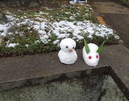 2雪うさぎ20180211