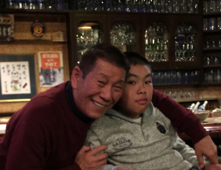 龍馬と爺い