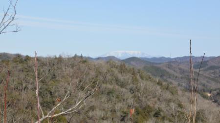 お正月の恵那山