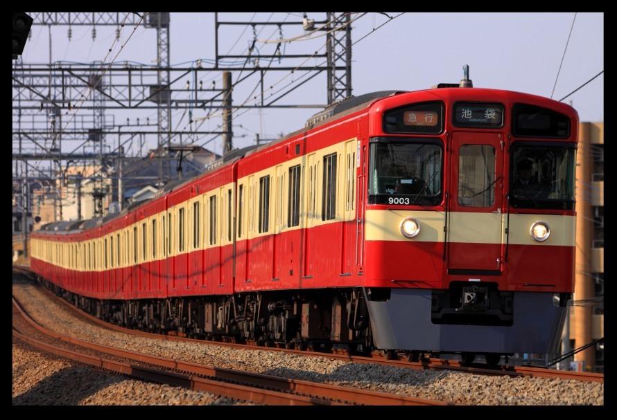 幸せの赤い電車9103Fリベンジ