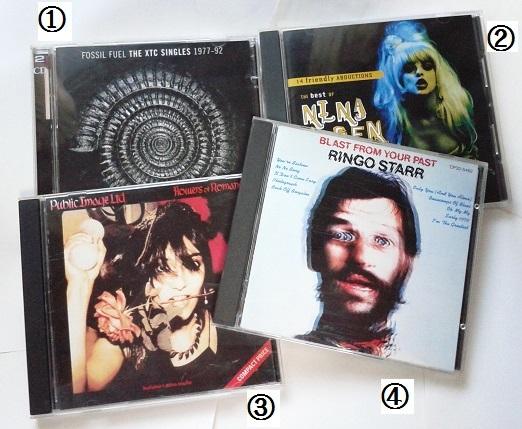 続きょう聴いたCDs