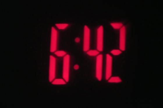 投影時計1