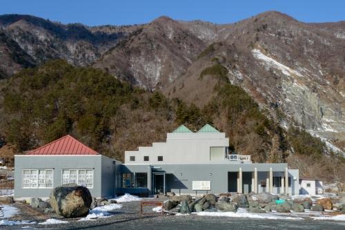 長野県下伊那郡大鹿村 中央構造線博物館