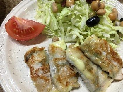 紫蘇チーズ肉巻き