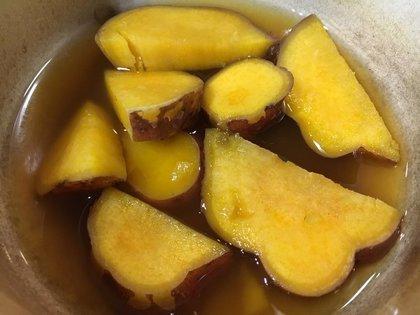 安納芋の甘煮