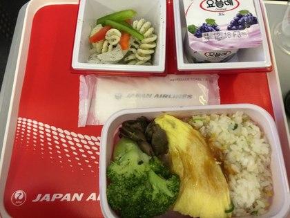 金浦-羽田 機内食