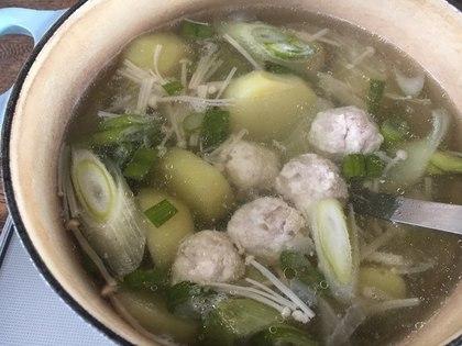 肉団子の美味しいスープ