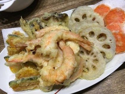 大晦日は天ぷら蕎麦