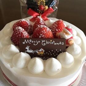 頂き物のクリスマスケーキ