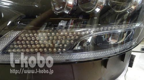 レクサスLS600シーケンシャルウインカー1