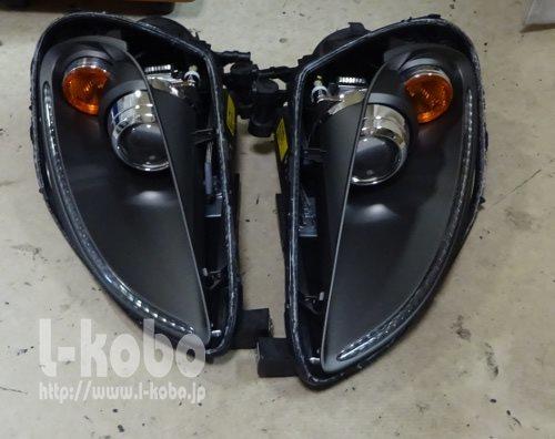 フェラーリ430ヘッドライト