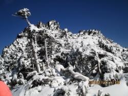 岩峰の三ツ岳