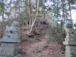 愛宕神社の狛犬