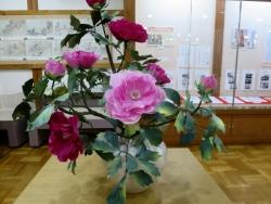 和紙で作った造花