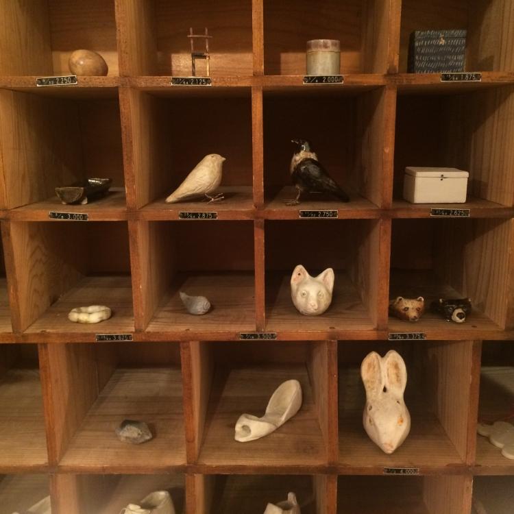 大島奈王/小箱、靴、猫顔オカリナなど