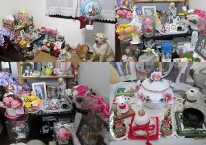 1225-風花クリスマス&お正月祭壇