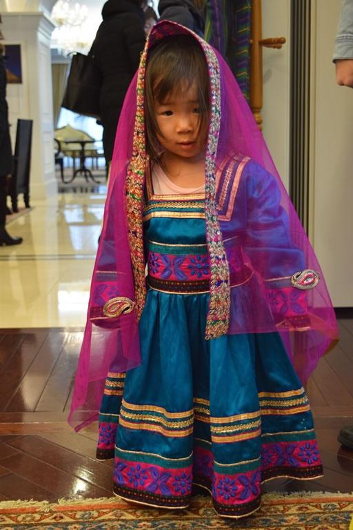 アフガニスタン民族衣装2