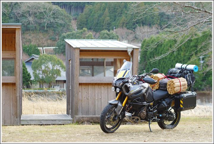 2018年1月16~17日 渡瀬緑の広場キャンプ場ツーリング (12)