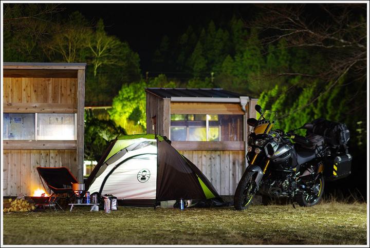 2018年1月16~17日 渡瀬緑の広場キャンプ場ツーリング (16)