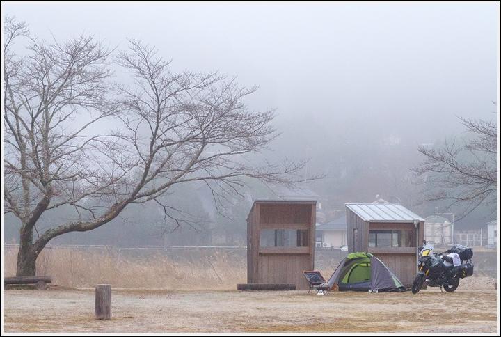 2018年1月16~17日 渡瀬緑の広場キャンプ場ツーリング (21)