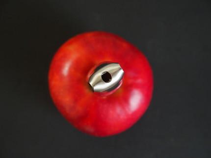 リンゴ 芯抜き